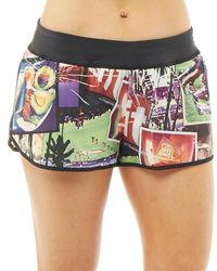 Reebok - Crossfit Graphic Speedwick 5 Inch Shorts Excellent Red - Lyst