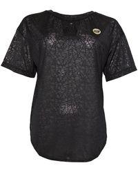 Skechers Skechers Zar Performance Sheer Loose Fit T-shirt Zwart
