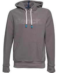 Bench - Core Hoody Fleece Grey - Lyst