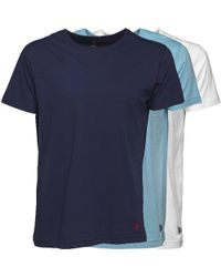 U.S. POLO ASSN. - Three Pack T-shirts Multi - Lyst
