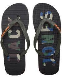 Jack & Jones | Flip Flops Black | Lyst