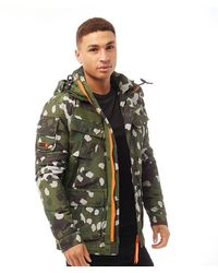 Superdry Veste Icon Military Service Vert Camo