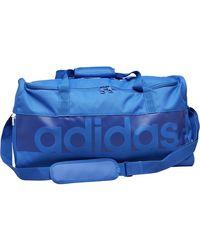 adidas Tiro Linear Logo Medium Team Bag Blue/bold Blue