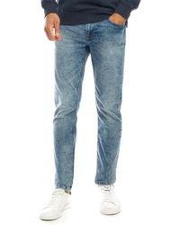 Only & Sons Warp Skinny Jeans Gebleekt Denim - Blauw