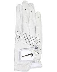 Nike Tour Classic Iii Right Hand Golf Glove Pearl White/pearl White/black