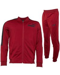 PUMA Trainingspak Bordeauxrood