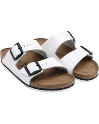 Birkenstock - Arizona Nl Sandals White - Lyst