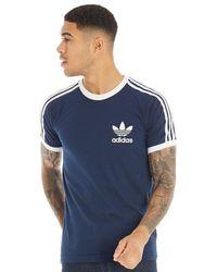 adidas Originals - Essentials California T-Shirt Navy - Lyst