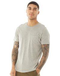 Jack & Jones Pocket T-shirt Light Grey Melange