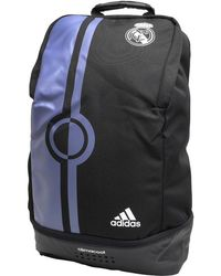 adidas - Rmcf Real Madrid Climacool Backpack Black/super Purple - Lyst