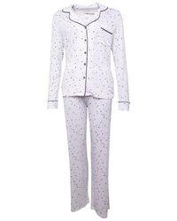 UGG Pyjamas Lenon Set Blanc