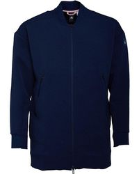 adidas X Eden Park Long Rugby Bomber Jacket Collegiate Navy/diva - Blue