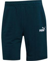 PUMA Amplified Jersey Shorts Dunkelgrün