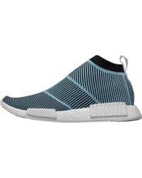 adidas Originals - Nmd_cs1 Parley Primeknit Trainers Blue/core Black/blue Spirit - Lyst