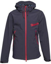 Bench - Softshell Jacket Navy - Lyst