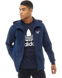 adidas Originals - X White Mountaineering Hooded Track Top Collegiate Navy - Lyst