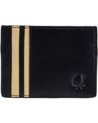 Fred Perry Cut & Sew Tipped Cardholder Black