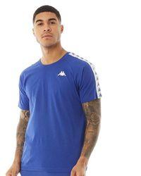 Kappa Authentic 222 Banda Coen Raglan T-shirt Blue/white