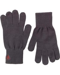 Original Penguin - Rib Gloves Phantom/red - Lyst