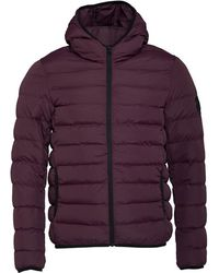 French Connection Row 2 Hooded Jacket Chateaux - Purple