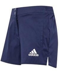 adidas Olympics Capri Leggins Blau