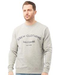 Crew Sweatshirt Grau