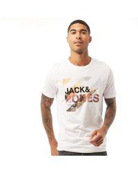 Jack & Jones Tee-Shirt Kev Blanc