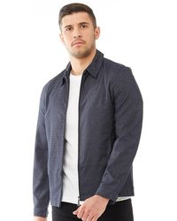 3a468bd4167246 Ted Baker - Bailey Bomber Jacket Navy - Lyst