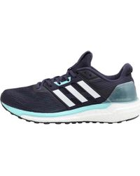 best website 874c9 e3b0e adidas - Supernova Neutral Running Shoes Noble Inkwhiteenergy Aqua - Lyst