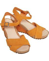 Clarks Flex Sun Sandalen Orange