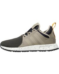 adidas Originals - X plr Sneakerboot Trainers Trace Cargo trace Cargo core  Black - Lyst e52bb1d20