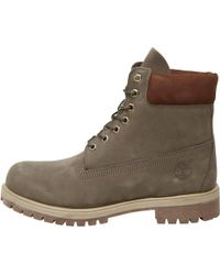 Timberland - 6 Inch Premium Boots Olive - Lyst