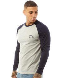 Tokyo Laundry Oron T-Shirt Navy - Blau