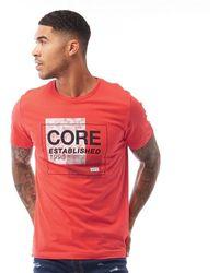 Jack & Jones Star T-Shirt Rot