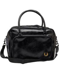 Fred Perry Classic Holdall Black/gold