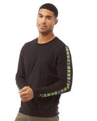 DKNY Orioles Long Sleeve Top Black