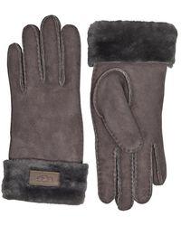 UGG Turn Cuff Box Set Handschoenen Antraciet - Grijs