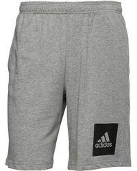 adidas - Athletics Sweat Shorts Grey/black - Lyst