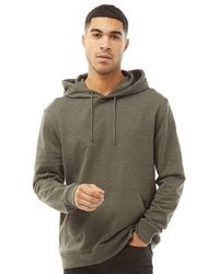 Only & Sons Winston Sweat Hoodie Forest Night - Green