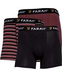 Farah Hadley Boxershorts Schwarz