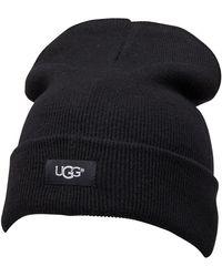 UGG Oversized Cuff Beanie Black