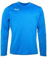 PUMA Liga Training Sweat Electric Blue/white
