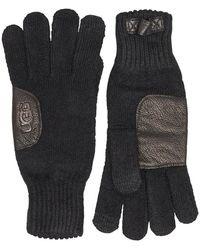 UGG Handschuhe Schwarz