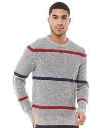 Produkt Tommy Crew Neck Knit Light Grey Melange