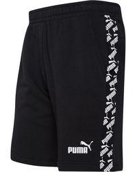 PUMA Amplified Taped Short Zwart