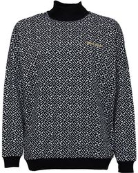 adidas Originals - All Over Print Sweatshirt White/black - Lyst