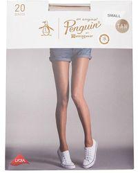 Original Penguin Sheer Tights 20 Denier Tan - Multicolour