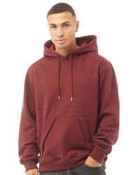 Duck and Cover Delaweres Hoodie Deep Red