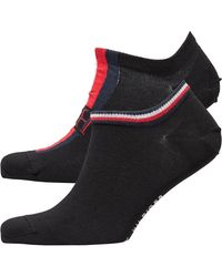 Tommy Hilfiger Trainer Two Pack Iconic Stripe Black