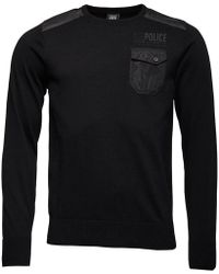 883 Police - Noir Jumper Black - Lyst